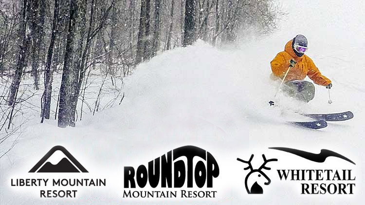 Liberty, Roundtop & Whitetail - Discount Ski Tickets