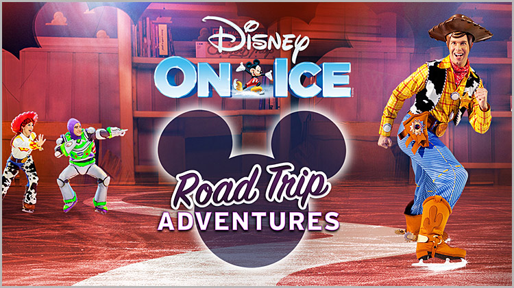 "Disney On Ice: ""Road Trip Adventures"" - Discount Tickets"