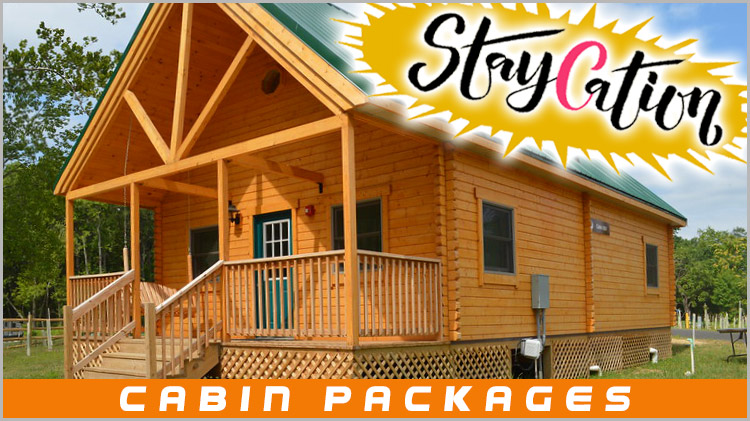 StayCation: Cabin Packages
