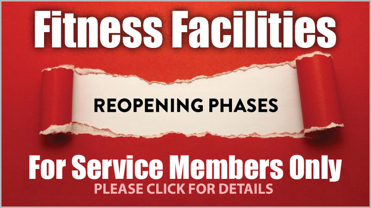 Fitness Facilities Re-opening