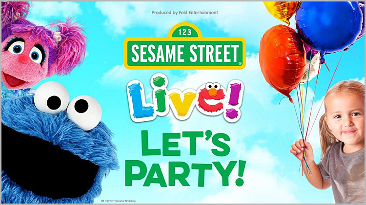 """Sesame Street Live """"Let's Party"""" Discount Tickets"""