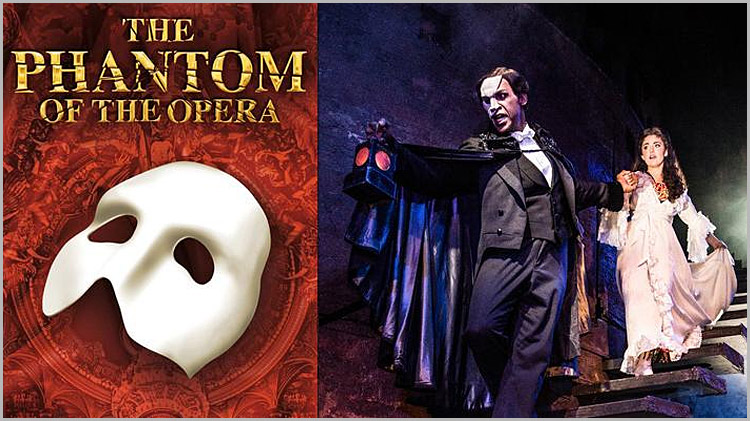 "Broadway Production ""Phantom of the Opera"" - Discount Tickets"
