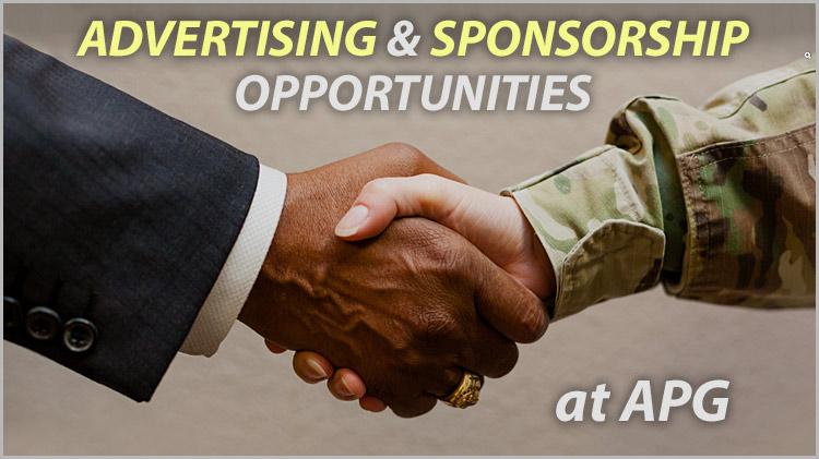 Advertising & Sponsorship Opportunities at APG
