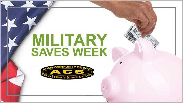Military Saves Week - Seminars