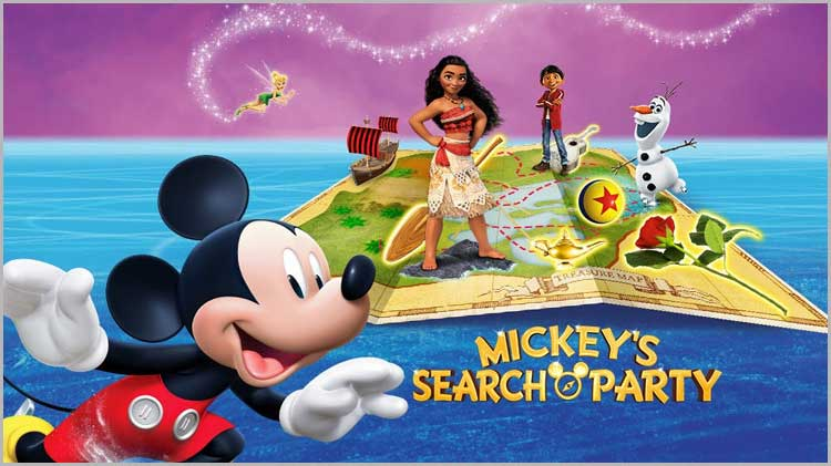 """Disney on Ice: """"Mickey's Search Party"""" - Discount Tickets"""