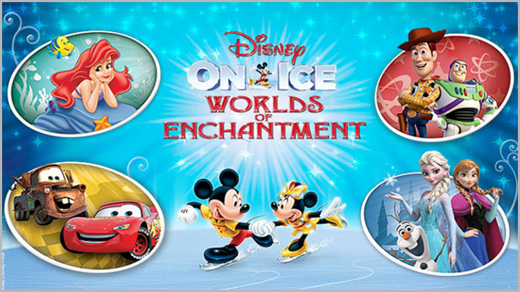 """Disney On Ice: """"Worlds of Enchantment"""" - Discount Tickets"""