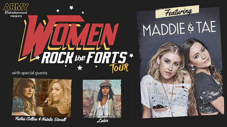 Women Rock the Forts Tour: Maddie and Tae in Concert!