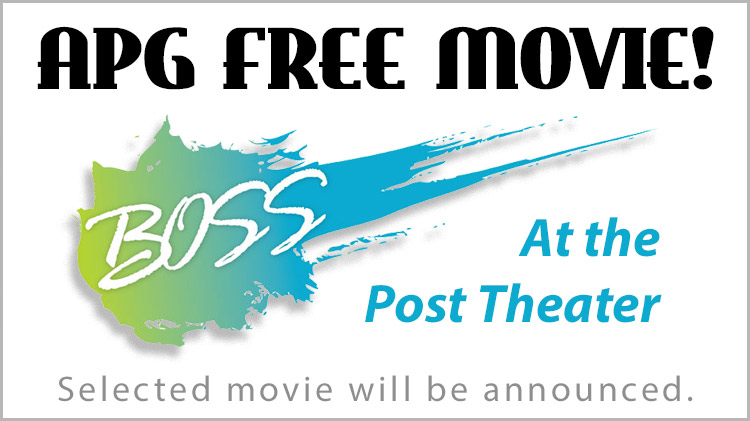 Free Movie at the Post Theater