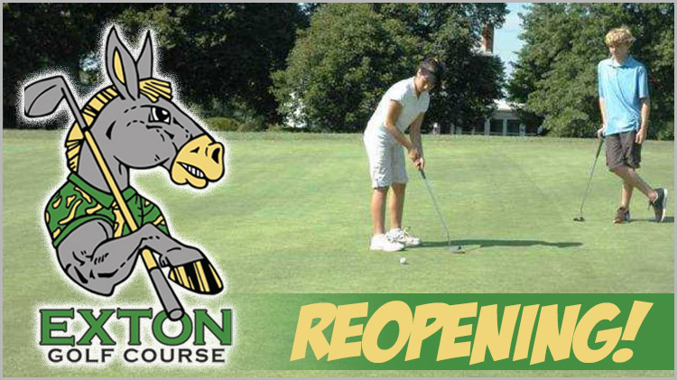 Exton Golf Course Re-opening