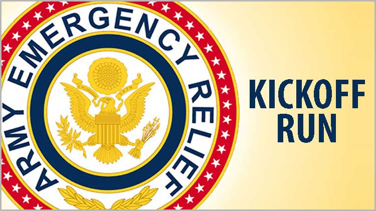 Army Emergency Relief Campaign Kickoff Run