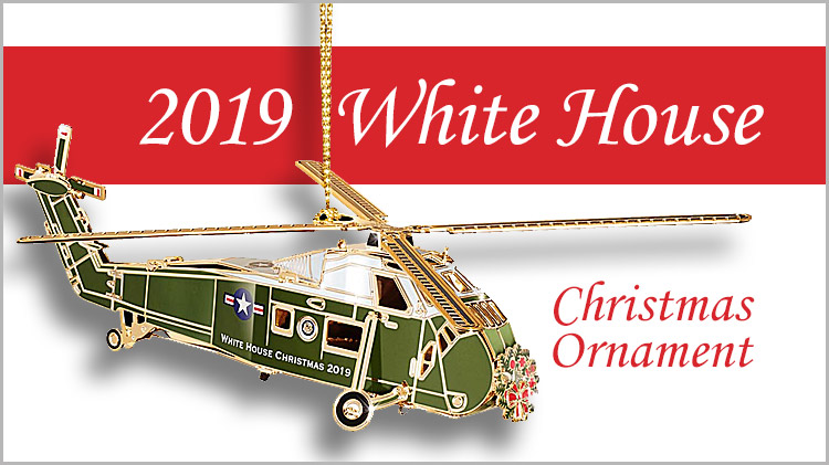 2019 White House Christmas.Us Army Mwr 2019 White House Christmas Ornaments