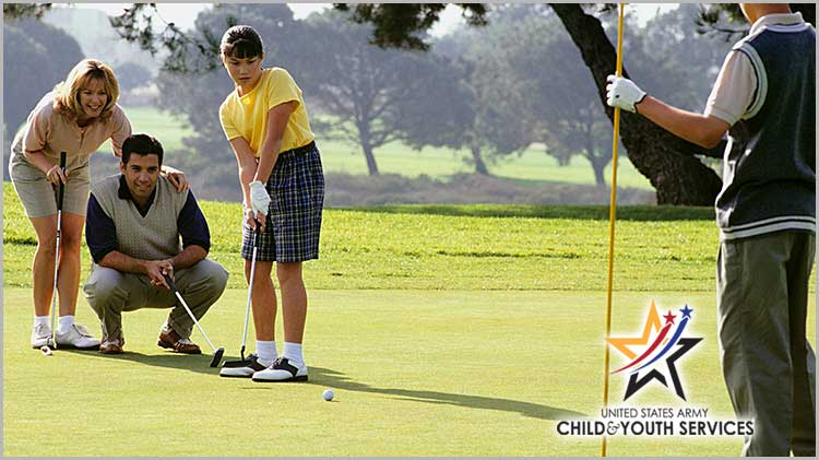 CYS - Spring Youth & Family Golf Program