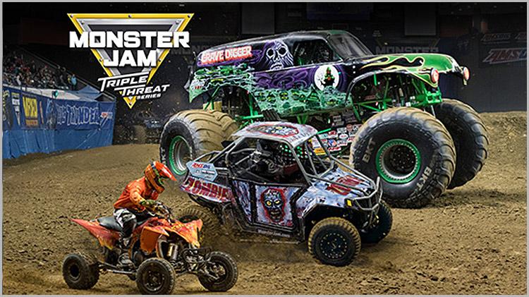 Monster Jam Triple Threat Series - Discount Tickets