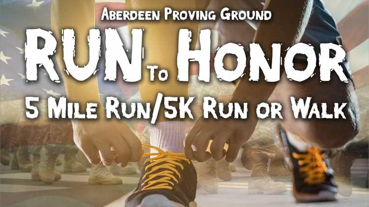 Run to Honor 5-Mile Run/5k Run or Walk