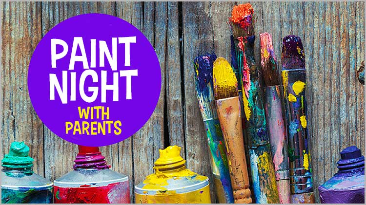 AA YS Open Recreation Presents: Paint Night with Parents